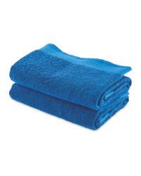 Kirkton House Hand Towels 2-Pack - Navy