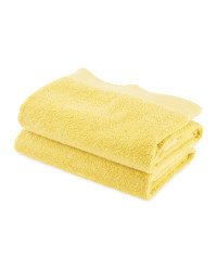 Kirkton House Hand Towels 2-Pack - Ochre