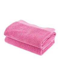 Kirkton House Hand Towels 2-Pack - Pink