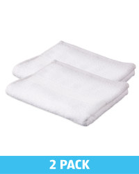 Kirkton House Hand Towels 2 Pack - White