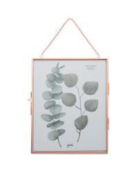 Kirkton House Hanging Photo Frame - Rose Gold