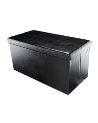 Storage Solutions Large Pouffe - Black