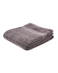 Kirkton House Luxury Bath Sheet - Slate Grey