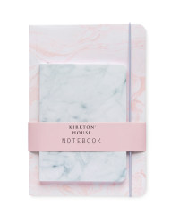 Kirkton House Marble Notebook 2-Pack
