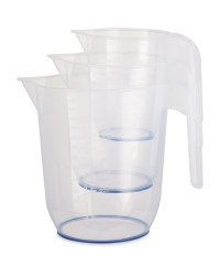 Kirkton House Measuring Jug 3 Pack - Blue