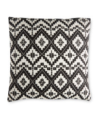 Kirkton House Mono Aztec Cushion