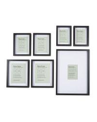 Kirkton House Multipack Frames - Black