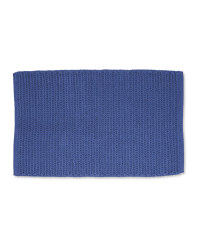 Kirkton House Rope Knit Bath Mat - Blue