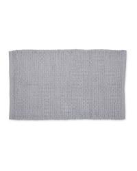 Kirkton House Rope Knit Bath Mat - Light Grey