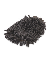Kirkton House Shower Mitt - Charcoal