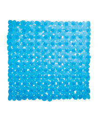 Kirkton House Square Shower Mat - Blue