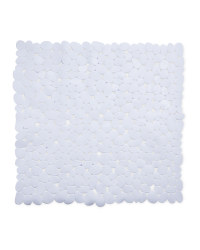Kirkton House Square Shower Mat - White