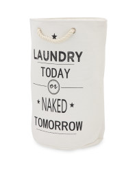 Kirkton House Slogan Laundry Bag