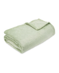 Kirkton House Soft Throw - Green
