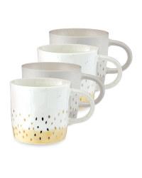 Kirkton House Speckled Mugs 4 Pack