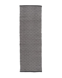 Kirkton House Squares Runner - Black/White