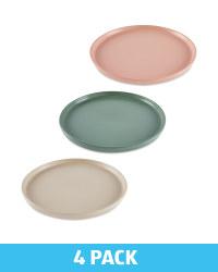 Kirkton House Stoneware Plate 4 Pack