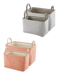 Kirkton House Storage Baskets 2 Pack