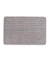 Kirkton House Stripe Dirt Buster Mat - Grey