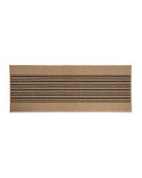 Kirkton House Striped Runner - Beige/Brown
