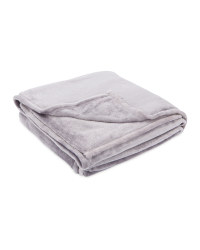 Kirkton House Super-Soft Throw - Grey
