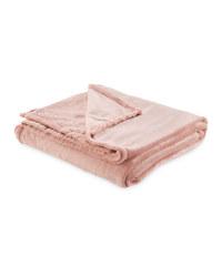 Kirkton House Super Soft Throw - Pink