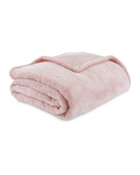 Kirkton House Super Soft Throw - Pink