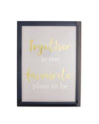 Kirkton House Together Frame
