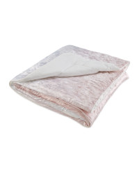 Kirkton House Velvet Throw - Pink