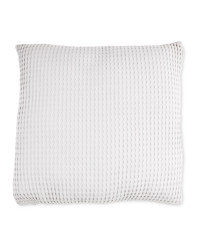 Kirkton House Waffle Knit Cushion - Light Grey