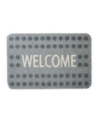 Kirkton House Welcome Washable Mat