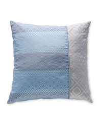 Kirkton House Woven Cushion - Blue