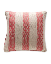 Kirkton House Woven Cushion - Red