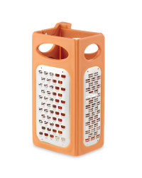Kitchen Box Grater - Orange