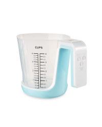 Kitchen Jug Scale - Blue