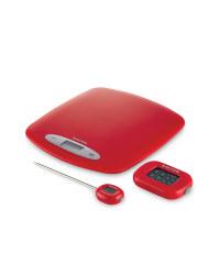 Kitchen Gift Set - Red