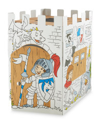 Knights Castle Colour-In Playhouse
