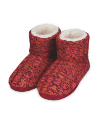 Avenue Ladies' Knitted Boots