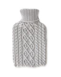 Knitted Winter Hot Water Bottle