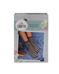 So Crafty Cosy Socks Knitting Kit