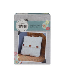 So Crafty Cushion Cover Knitting Kit