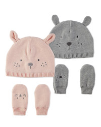 Lily & Dan Baby Hat Set