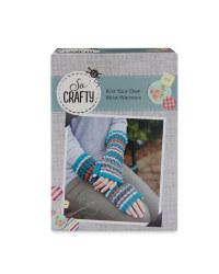So Crafty Wrist Warmers Knitting Kit