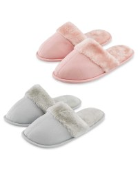 Avenue Ladies' Mule Slippers