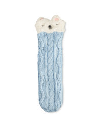Ladies' Bear Winter Boot Socks