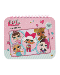 LOL Placemat Pad Activity Book