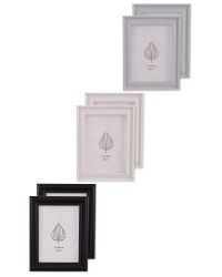 Lace Effect Frames 2 Pack