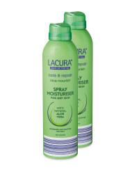 Lacura Aloe Spray Moisturiser 2 Pack