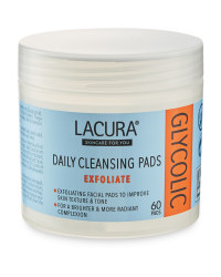 Lacura Glycolic Pads 60-Pack