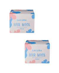 Lacura Hair Mask 2 Pack